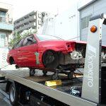 パーツ買取情報 AE86 レビン部品取り車