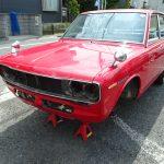 不動車 ブルーバード買取情報 島根県にてP510の買取