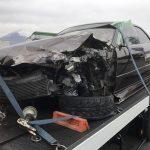 事故車 マークⅡ買取情報  静岡にて事故現状の100マークⅡを買取