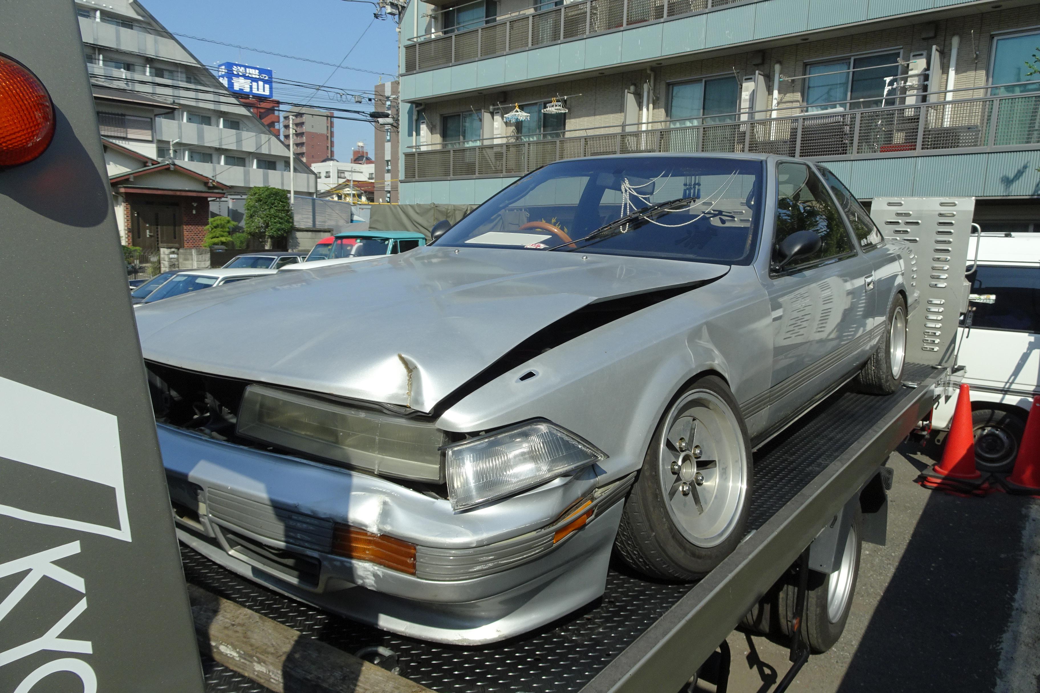 事故車 買取情報 茨城にて20ソアラを買取