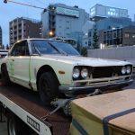 不動車 買取情報 茨城にてL28改のハコスカ2Dを買取