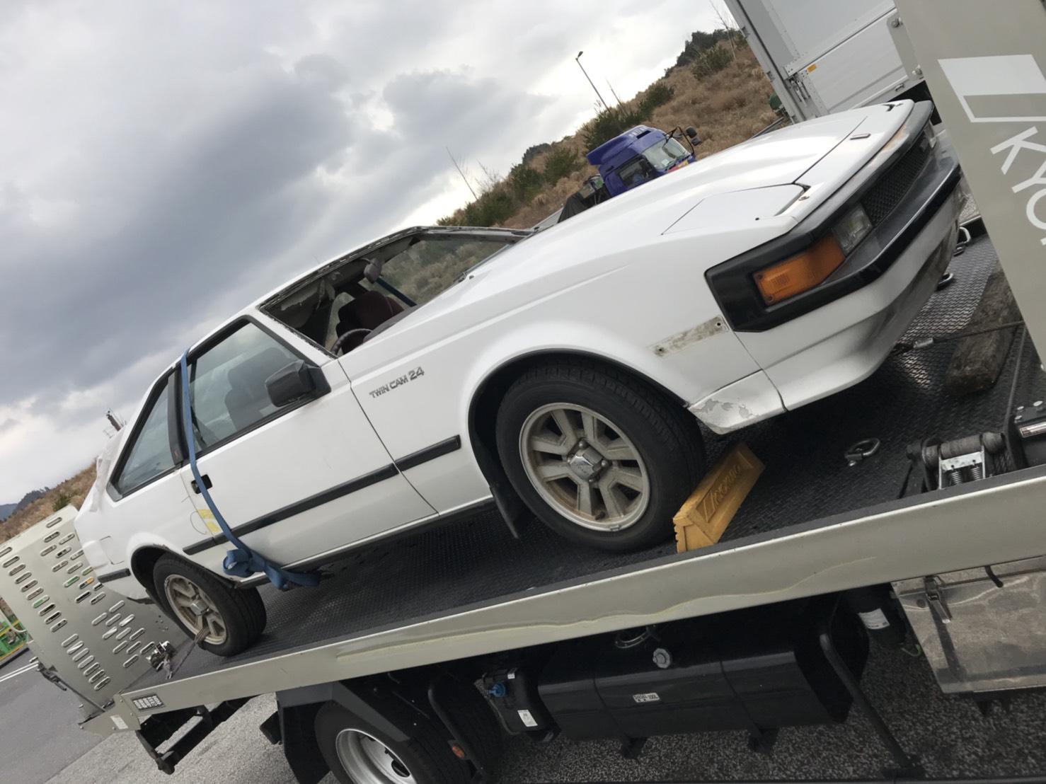 不動車 セリカ買取情報 大阪にてセリカXXを買取