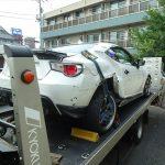 [事故車買取情報]千葉にてZN6 86を買取