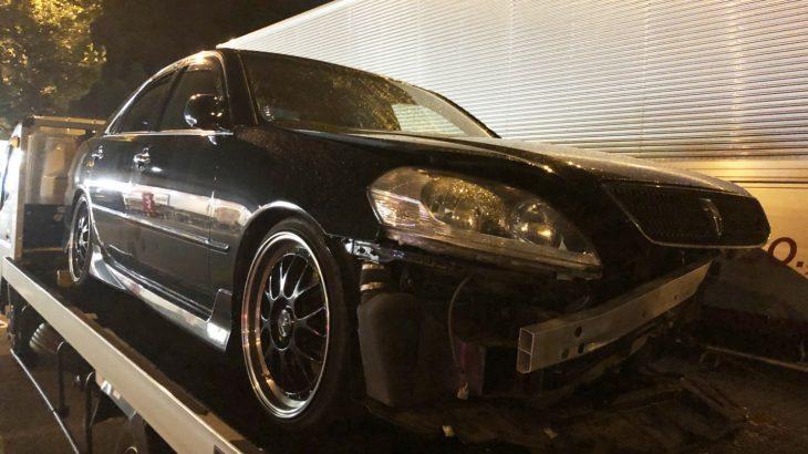 [事故車買取情報]愛知にてマークⅡiR-Vを買取
