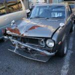 [事故車買取情報]愛知県にて110サニーを買取