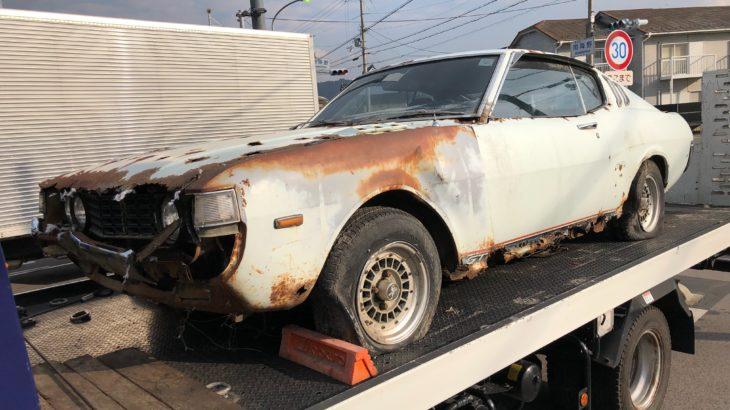 [不動車買取情報]滋賀にてTA27セリカLBを買取