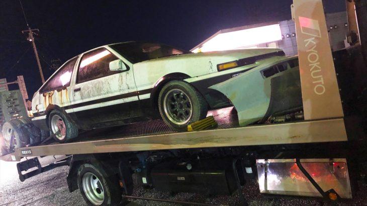 [不動車買取情報]千葉にて不動の86トレノを買取