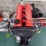 [ヤフオク情報]新規製作 AE86に 4AG ハイカム ハイコンプ キャブ仕様エンジン OERΦ45 タコ足付き 92後期ブロック