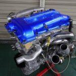 [ヤフオク情報]☆オーバーホール済☆SR20DET ターボエンジン 新品NVCS 東名メタルヘッドガスケット エキマニ アウトレット 強化ノーマル仕様